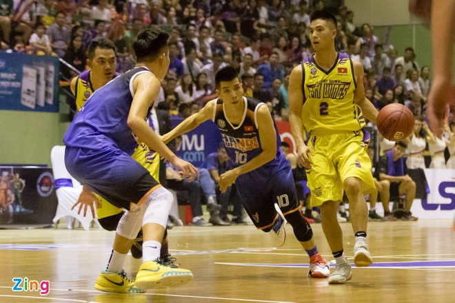 Vincent Nguyen toa sang, Hanoi Buffaloes doat ve choi play-off hinh anh 1