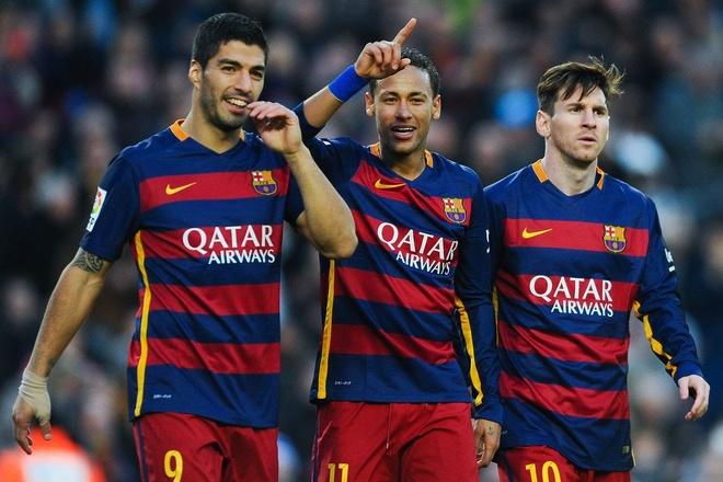 'Tam tau' Messi, Suarez, Neymar - Gia dinh la chon binh yen hinh anh