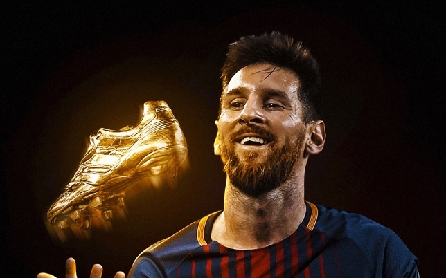Gianh giay vang, Messi can bang ky luc cua Ronaldo hinh anh
