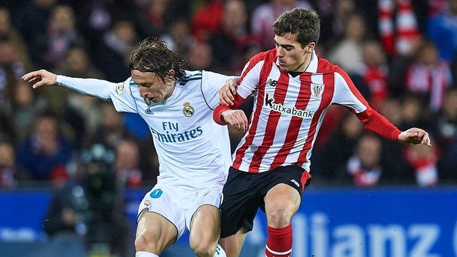 Highlights Real Madrid hoa khong ban thang Athletic Bilbao hinh anh