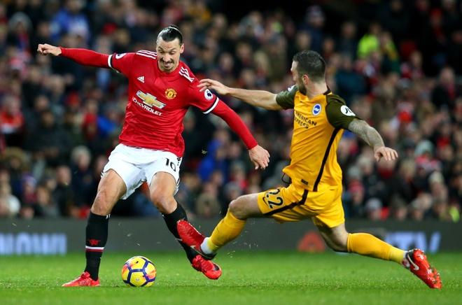 Mat Pogba, Mourinho dung Ibra de 'thi uy' truoc derby Manchester hinh anh 1