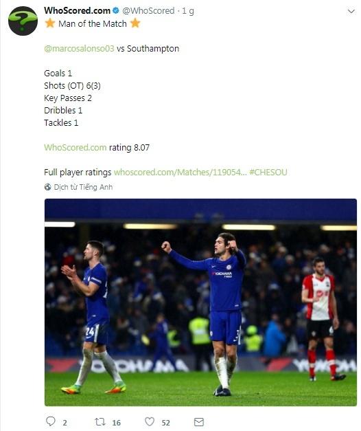 Chuyen gia sut phat len tieng, Chelsea nhoc nhan thang Southampton hinh anh 8