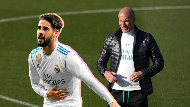 Zidane: 'Isco choi bong nhu nghe si duong pho' hinh anh