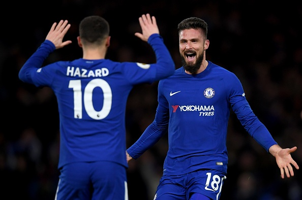 Hazard cung Giroud toa sang, Chelsea 'de bep' West Brom 3-0 hinh anh