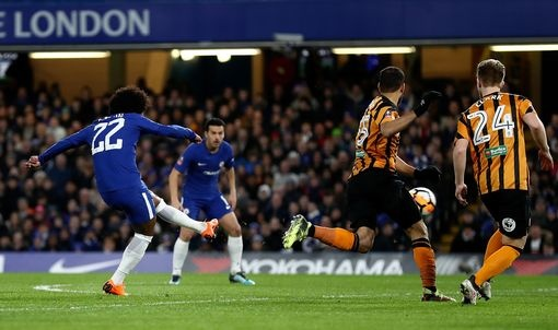 Willian cung Giroud no sung, Chelsea 'huy diet' Hull City 4-0 hinh anh 2