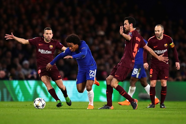 Messi ghi ban, Barca cam hoa Chelsea 1-1 tren dat Anh hinh anh 6