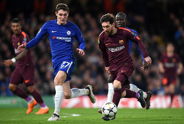 Messi ghi ban, Barca cam hoa Chelsea 1-1 tren dat Anh hinh anh 5