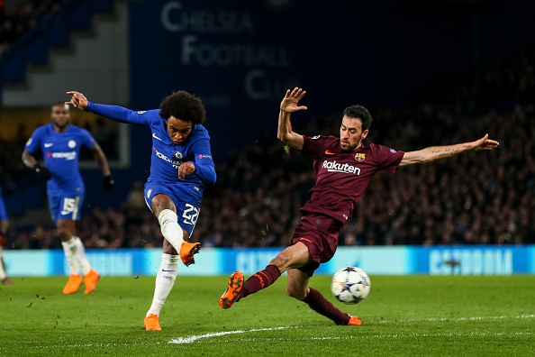 Messi ghi ban, Barca cam hoa Chelsea 1-1 tren dat Anh hinh anh 7