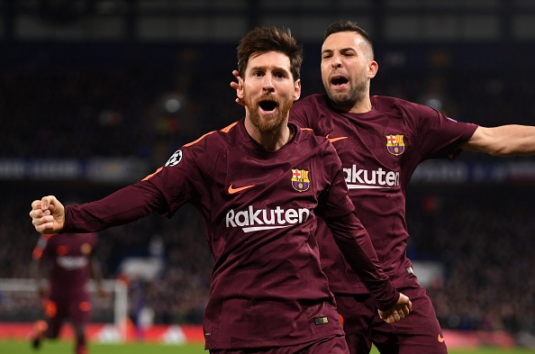 Messi ghi ban, Barca cam hoa Chelsea 1-1 tren dat Anh hinh anh