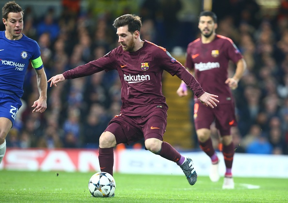 Messi ghi ban, Barca cam hoa Chelsea 1-1 tren dat Anh hinh anh 4