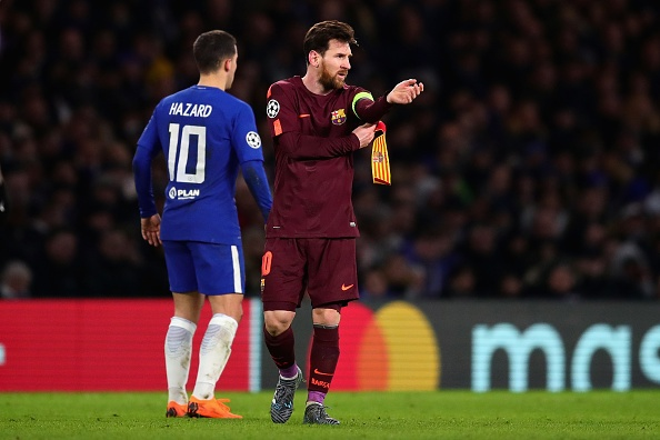 Messi ghi ban, Barca cam hoa Chelsea 1-1 tren dat Anh hinh anh 10