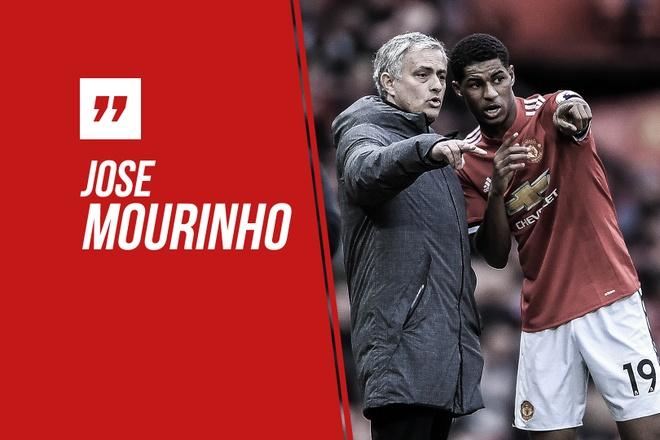 HLV Mourinho ly giai viec chon Rashford thi dau hinh anh