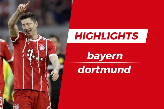 Highlights Bayern Munich 6-0 Borussia Dortmund hinh anh