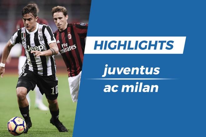 Highlights Juventus 3-1 AC Milan hinh anh