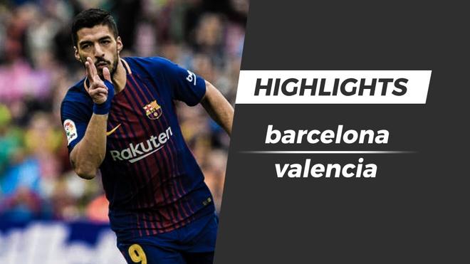 Highlights Barcelona 2-1 Valencia: Ky luc bat bai hinh anh