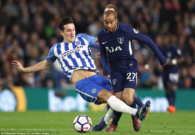 Harry Kane ghi ban trong ngay Tottenham hoa bac nhuoc Brighton hinh anh 2