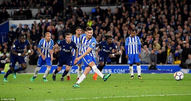 Harry Kane ghi ban trong ngay Tottenham hoa bac nhuoc Brighton hinh anh 5