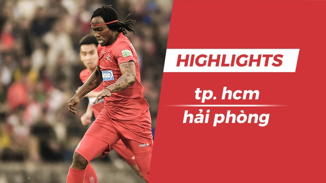 Highlights Fagan toa sang giup Hai Phong danh bai TP.HCM hinh anh