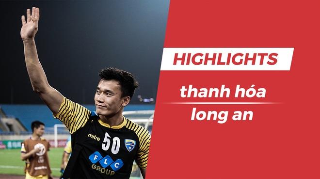 Highlights Thanh Hoa 2-0 Long An: Bui Tien Dung tro lai hinh anh