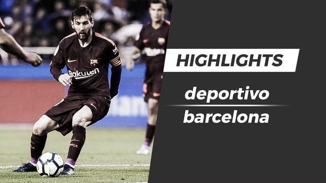 Highlights Messi ruc sang giup Barca vo dich La Liga hinh anh