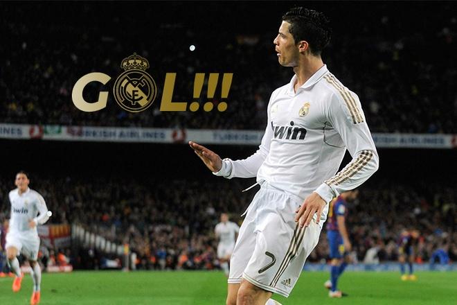 Nhung ban thang dep nhat cua Real Madrid tai Nou Camp hinh anh