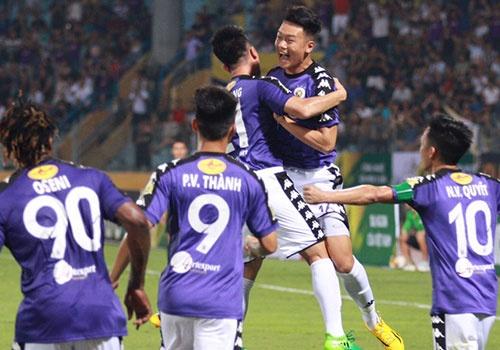 CLB Ha Noi 1-1 HAGL: Kich tinh va hap dan tren san Hang Day hinh anh