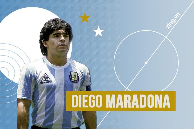 Diego Maradona va noi uat han cua nguoi Anh hinh anh