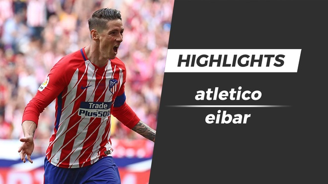 Highlights Atletico Madrid 2-2 Eibar: Torres lap cu dup hinh anh