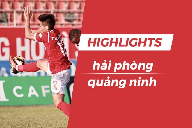 Highlights CLB Hai Phong 0-1 CLB Quang Ninh: Mac Hong Quan toa sang hinh anh