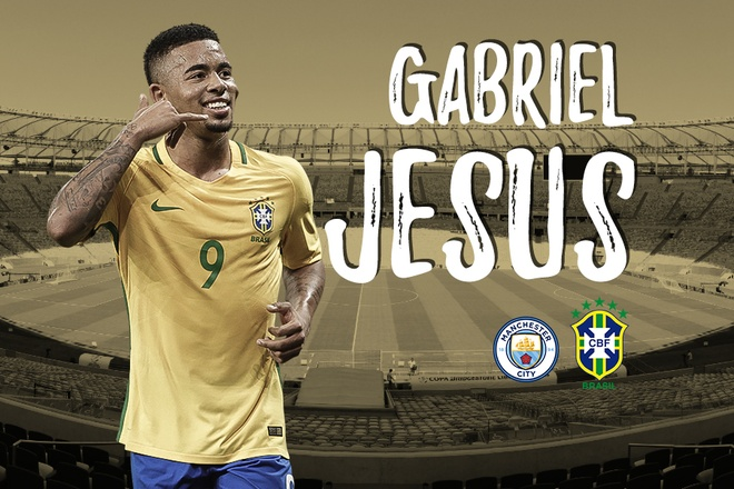 Gabriel Jesus - niem hy vong moi cua DT Brazil hinh anh