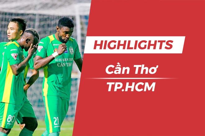 Highlights CLB Can Tho 1-1 CLB TP. HCM hinh anh
