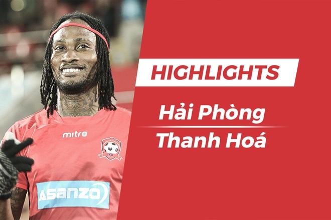 Highlights CLB Hai Phong 2-0 CLB Thanh Hoa hinh anh