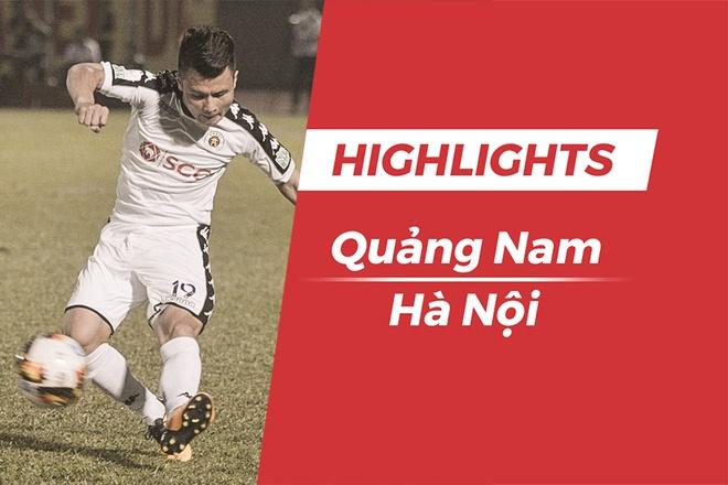 Highlights CLB Quang Nam 0-1 CLB Ha Noi: Quang Hai toa sang hinh anh