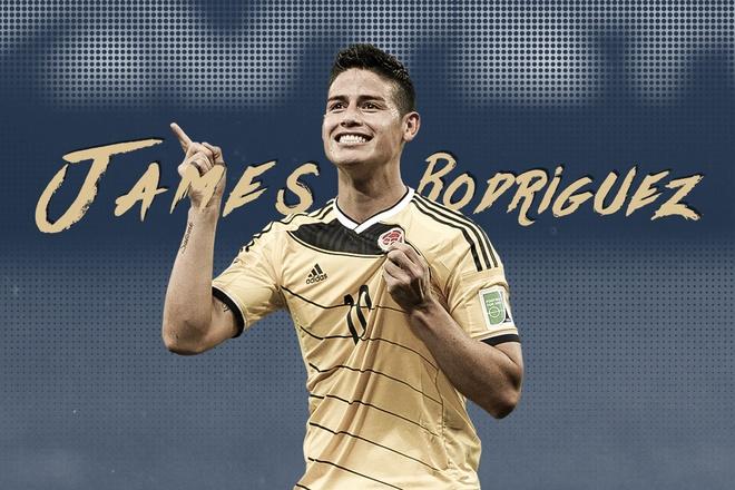 James Rodriguez va man ra mat hoan hao tai World Cup 2014 hinh anh