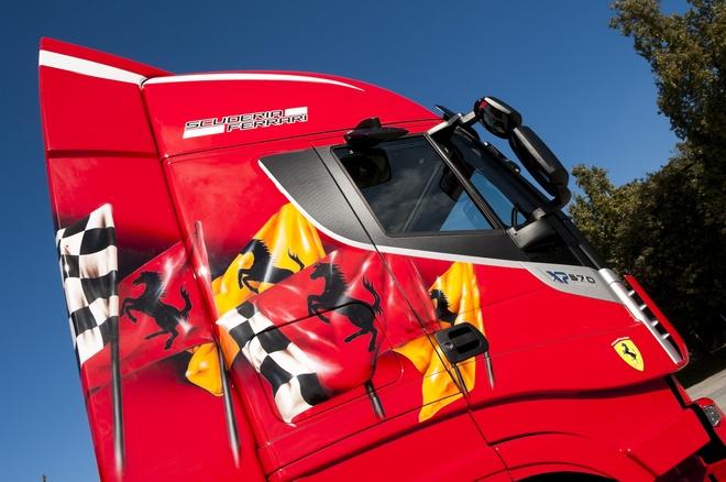 Xe tai dan ao Ferrari gia 2,6 ty hinh anh 2