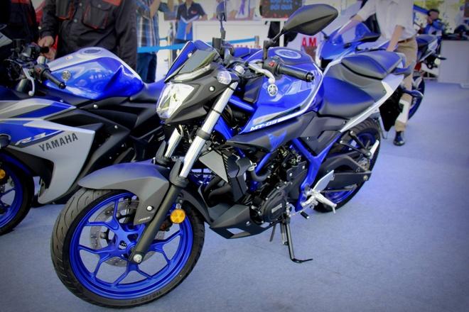 Danh gia nhanh Yamaha MT-03 tai Viet Nam hinh anh