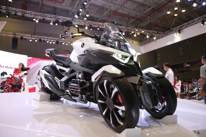 Xe concept phong cach phim vien tuong Honda NeoWing hinh anh