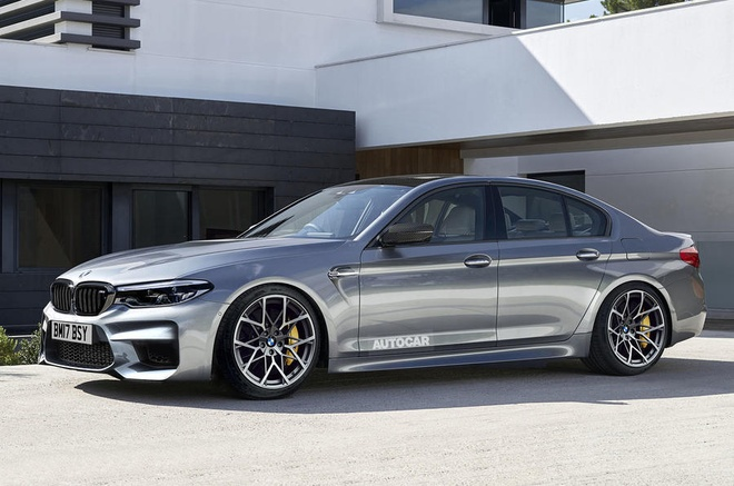 Sieu sedan BMW M5 2017 lo dien hinh anh 3