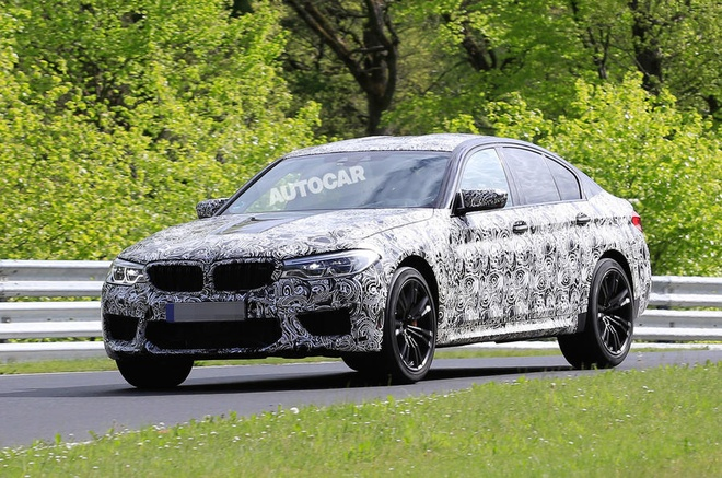 Sieu sedan BMW M5 2017 lo dien hinh anh 2