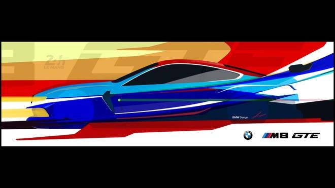 BMW sap ra mat phien ban dua M8 GTE hinh anh 1
