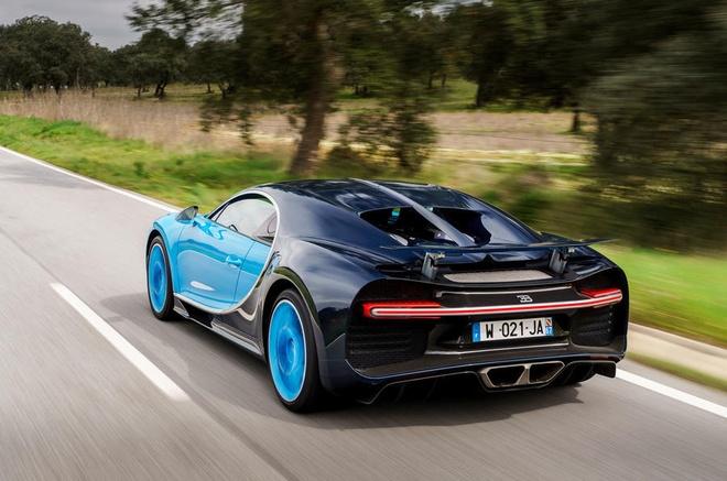 Bugatti Chiron se duoc trang bi dong co dien hinh anh 3
