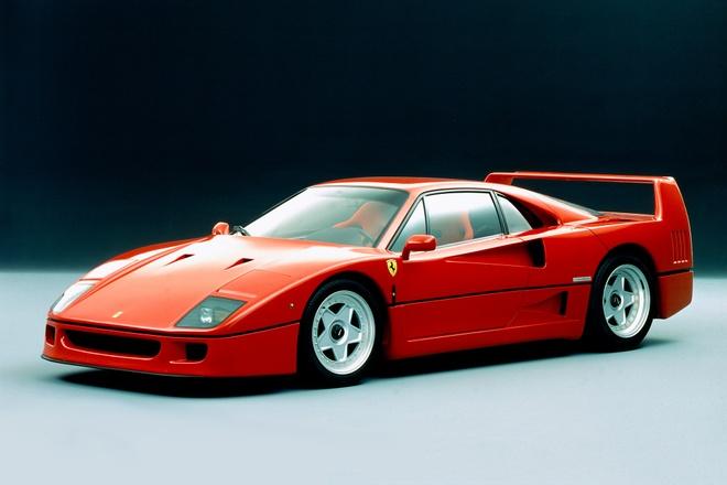 Ferrari F40 - 30 nam thang tram cua mau xe huyen thoai hinh anh