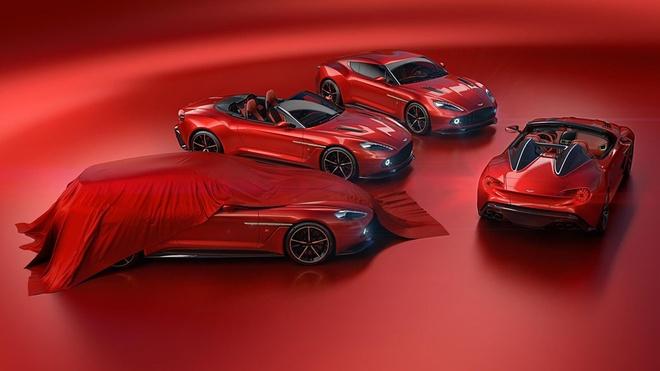 Aston Martin bo sung 2 phien ban Vanquish Zagato moi hinh anh