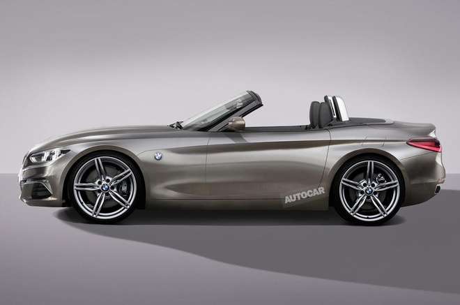 He lo hinh anh mau the thao mui tran BMW Z4 Concept hinh anh 3