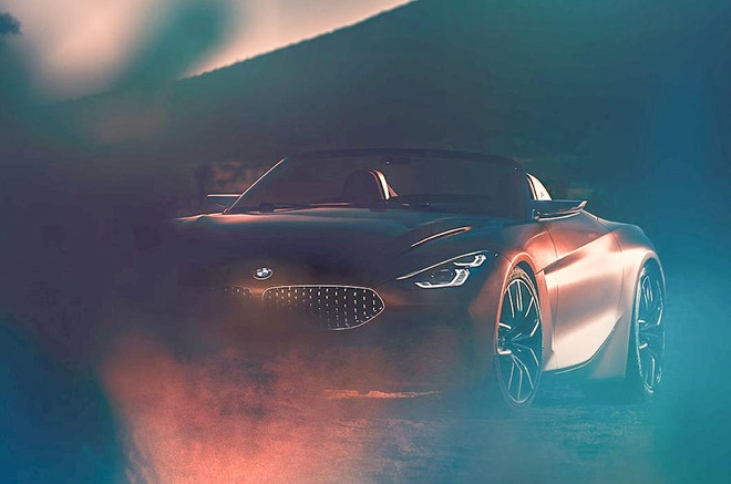 He lo hinh anh mau the thao mui tran BMW Z4 Concept hinh anh