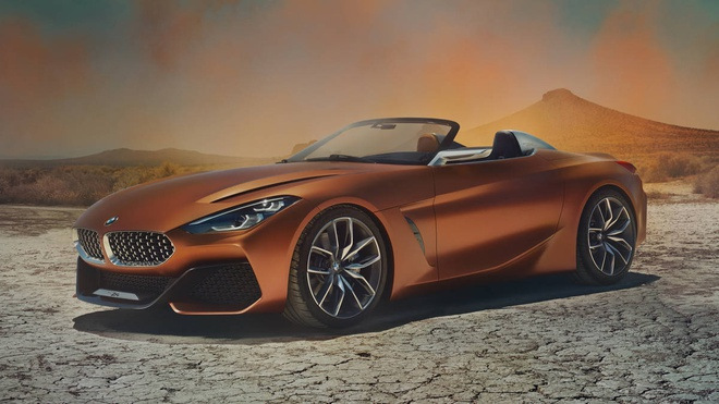 BMW Concept Z4 Roadster chinh thuc xuat hien hinh anh