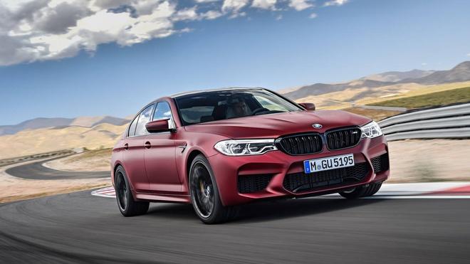 BMW M5 2018 suc manh ngang sieu xe hinh anh
