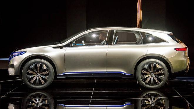 Mercedes ra mat hatchback chay dien EQ A Concept hinh anh 1