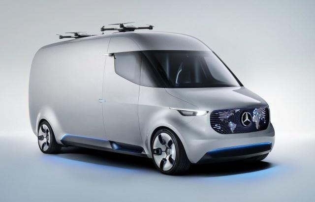 Mercedes Sprinter 2018: Tro lai va danh bai Ford Transit? hinh anh 2