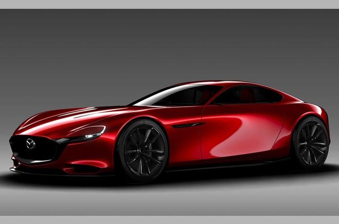Mazda RX-Vision 2015 - Chiec xe cuoi cung so huu dong co quay Wankel hinh anh